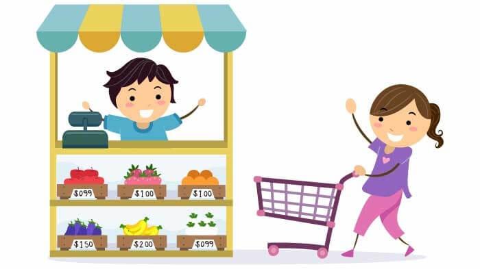 3. Sınıf matematik etkinliği alışveriş