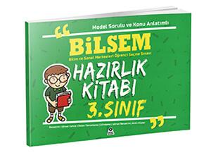 BİLSEM 3.Sınıf hazırlık kitabı
