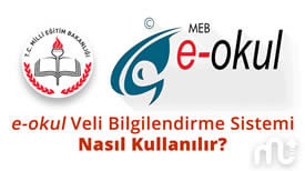 E-okul Veli Bilgilendirme Sistemi (VBS)