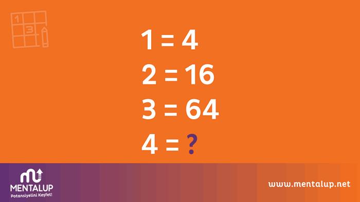 matematik zeka sorusu 1