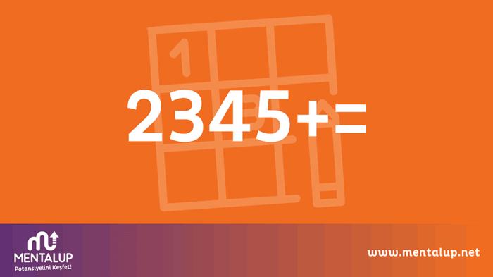matematik zeka sorusu 2