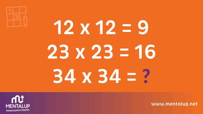 matematiksel sayısal zeka soruları
