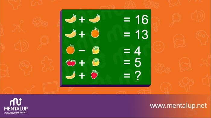 matematik zeka sorusu