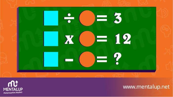 matematiksel zeka sorusu