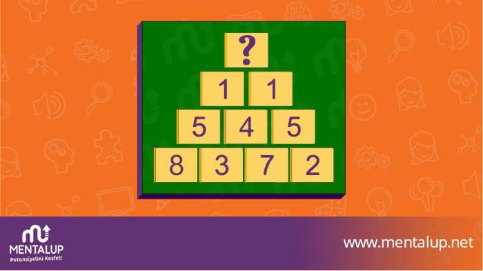 matematiksel zeka mantık sorusu
