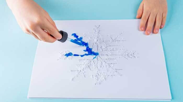 pipetli ressam 5-6 yaş etkinliği