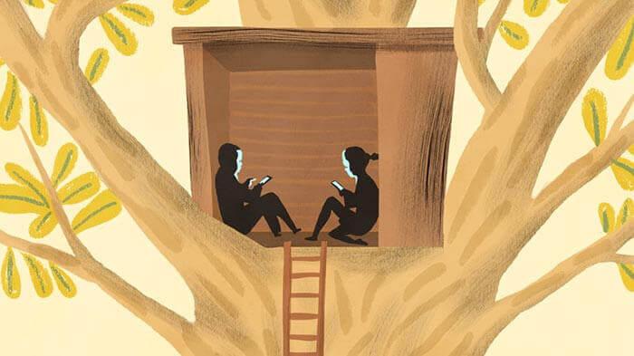 Teknoloji bağımlısı çocuklar