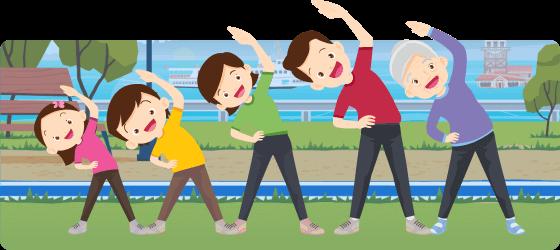 evde spor hareketleri