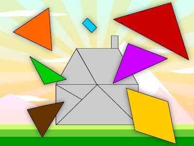 tangram eğitici oyunu