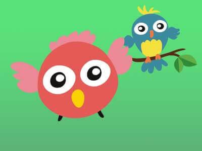 uçan kuşlar dikkat oyunu