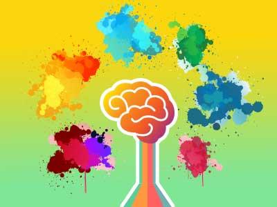 yanıltan renkler dikkat oyunu
